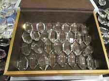 Ersatzteil f. Lampe Lüster Kristall Tropfen facettiert ca.3,5x5,5cm 41 vorhanden
