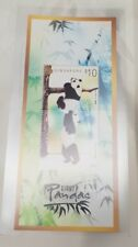 2012 Singapore First Day Cover China Giant Panda High Value $10 Miniature Sheet