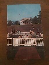 Grave of John F. Kennedy, Postcard, Arlington National Cemetery