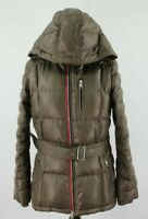 TOMMY HILFIGER Brown Quilted Puffer Jacket size M