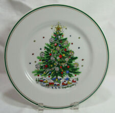 Salem Fine Porcelain China CHRISTMAS EVE Round Serving Plate NO Handle VGC