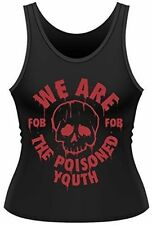 Fall out Boy The Poisoned Youth Women's Black Fob Vest L 12-14