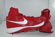 Nike ZOOM Hyperfuse 525019-600 EU 45 US 11 Basketballschuhe High Tops