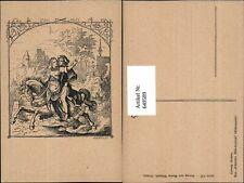 649589,Künstler AK Ludwig Richter Märchen Schmidts Märchenbuch Aschenputtel