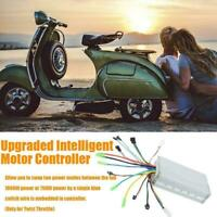 1000W/48V Electric Bicycle E-bike Scooter Brush DC Controller Speed Motor A7C9