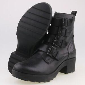 0504-Dockers Damen Plateau Stiefel Boots Gr 37 Schwarz 2. Wahl