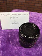 Minolta AF Power Zoom Lens 35-80mm 1.4-5.6 for MAXXUM Camera 12505795 Japan