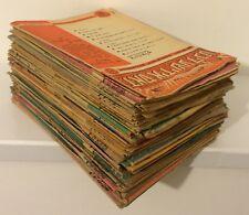 "LOT 80 Yiddish newspapers weekly ""Das Yidische Licht"" Jerusalem 1960s - 1970s"