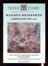 Catalogue Sale Comics Aguttes Auction 08/06/1996 Cover Hausman
