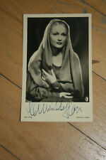 Camilla Horn ,Ross Nr 1029/1,,signierte Autogrammkarte ,(A9)