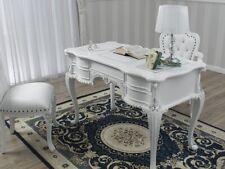 Bureau Secrétaire Diana style Chippendale Moderne ministériel 180 cm blanc laqué