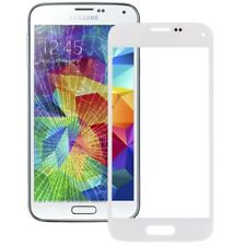 Front Screen Outer Glass Lens for Galaxy S5 mini (White)