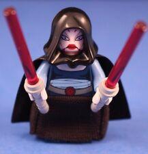 LEGO® STAR WARS™ 7676 ASAJJ VENTRESS™ Minifigure + Black Skirt, hood, & sabers