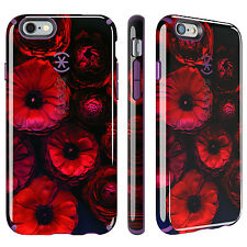 Speck CandyShell Inked Apple iPhone 6 6s Case Cover Moody Bloom & Acai Purple