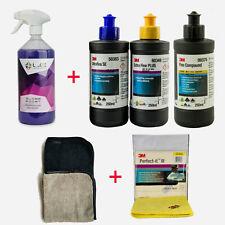 3M Polituren Set + Liquid Elements Gloss Boost Sprühversiegelung + 3x Poliertuch