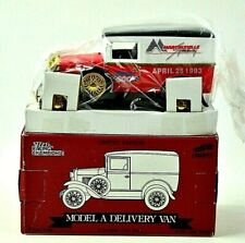 Racing Champions Ford Model A  Van 1993 Martinsville Speedway Die-Cast Bank NEW