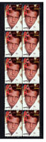 PAUL NEWMAN HOLLYWOOD ICON STRIP OF 10 MINT VIGNETTE STAMPS 5