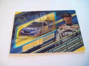 JIMMIE JOHNSON PRESS PASS ECLIPSE HYPER DRIVE INSERT HD 8/9 NASCAR 2004