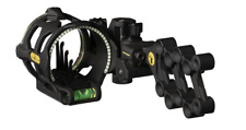 Trophy Ridge React V5 Right Hand Black Compound Bow Sight