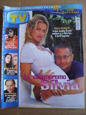 TV Sorrisi e Canzoni n°34 2002 Paola & Chiara Elvis Presley Bonolis  [D54]