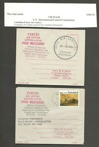 AOP Canadian Forces in South Vietnam 1973 covers (2)