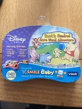 RARE NEW VTech V.Smile Baby Learning Game Poohs Hundred Acre Wood Adventure