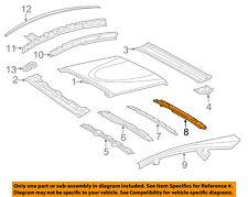 TOYOTA OEM 12-17 Prius V Roof-Rear Header 6310547030