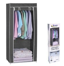 Armario de tela ropero estante lona ropa guardarropa closet 148x70x48cm OFERTA