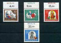Berlin MiNr. 310-313 postfrisch MNH Oberrand Zudruck Berlin (F649