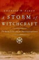 A STORM OF WITCHCRAFT - BAKER, EMERSON W. - NEW PAPERBACK BOOK