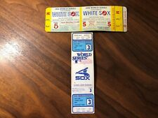 1964 CHICAGO WHITE SOX WORLD SERIES PHANTOM FULL MINT TICKET, GAME 5, SEAT 3