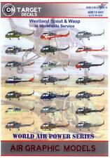 Air Graphic Decals 1/72 Westland Scout & Wasp In World Wide Service
