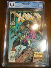Uncanny X-men #266 Hot Key CGC 8.5 VF+ Kubert Cover 1st Gambit Mystique Marvel