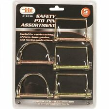 PTO PIN ASSORTMENT TRAILER ASSEMBLIES & COUPLERS tempered carbon steel NEW 5PACK