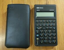 HP 20 S Scientific Calculator 1987 with Case Very Nice Condition Made in USA