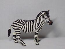 Adult Zebra Figure By Safari Ltd Zoo Africa Playset Toy Wild Animal Cake Topper