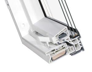 Kunststoff  Dachfenster SKYFENSTER - 3-Fach-Verglasung + Eindeckrahmen + ROLLO