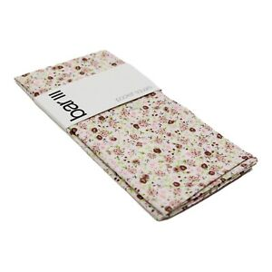 Bar III Men's Pocket Square Beige Taupe Bourke Floral Print Accessory NWT