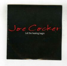 CD SINGLE PROMO (NEW) JOE COCKER LET THE HEALING BEGIN