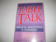 Table Talk: Biblical Questions and Answers by Moshe Pinchas Weisblum