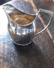 18thc  Solid silver Cream Jug,