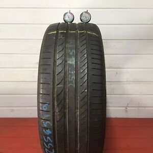 1 x 255/45/19 104Y XL CONTINENTAL SPORT CPNTACT5 AO  Part Worn Tyres 255 45 19