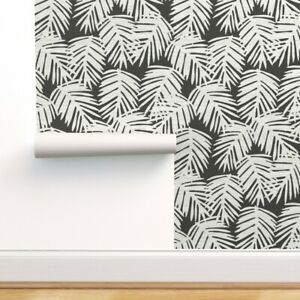 Peel-and-Stick Removable Wallpaper Palm Leaves Tropical A273