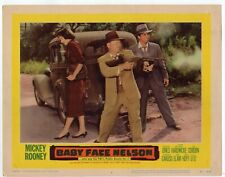 MICKEY ROONEY BABY FACE NELSON  1957 ORIG  11X14 LOBBY CARD  LC3857