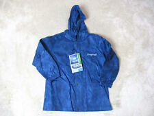 NEW Frogg Toggs Polly Woggs Rain Suit Jacket Youth Small Blue Waterproof Hooded