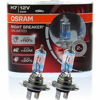 OSRAM NIGHT BREAKER UNLIMITED XENON LOOK H7 12V 55W +110%  PX26d DUO-BOX