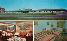 Roadside Postcard Motel Hote, Ste. Anne de Beaupre, Quebec, Canada