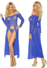 Plus Size Lingerie XL-2X-3X Sexy Clothes intimate Crossdresser Gown Dress