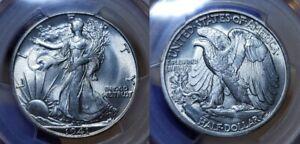 1941 S Walking Liberty Half Dollar 50c PCGS MS 66 CAC