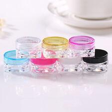 6stk Kosmetik Leere Flasche Lidschatten Container Gesichtscreme Lippenbalsam 5g